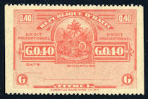 Image of Effects de Commerce revenue stamp 1928